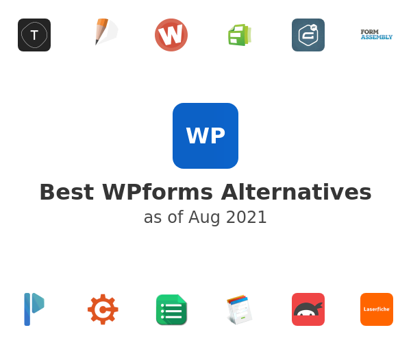 Best WPforms Alternatives