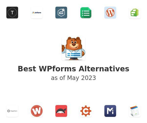Best WPforms Alternatives
