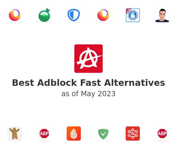 Best Adblock Fast Alternatives