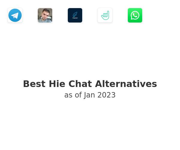 Best Hie Chat Alternatives