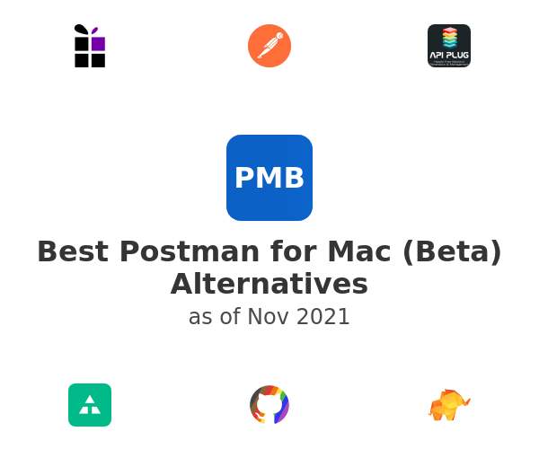 Best Postman for Mac (Beta) Alternatives