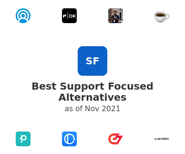 Best Support Focused Alternatives