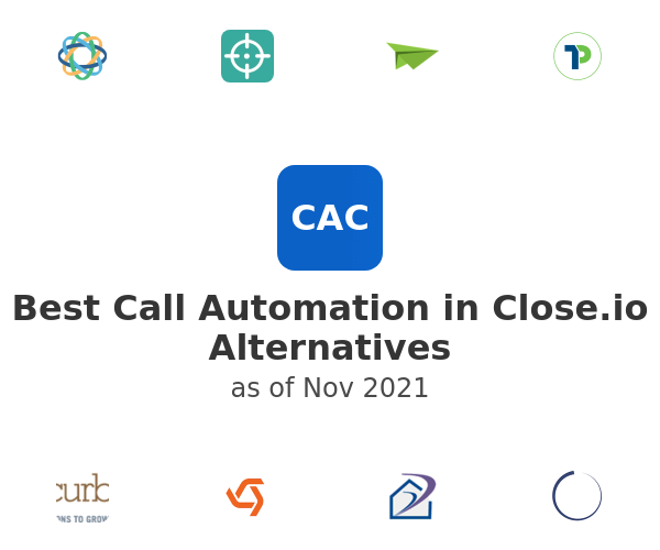 Best Call Automation in Close.io Alternatives