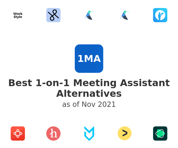 Best 1-on-1 Meeting Assistant Alternatives