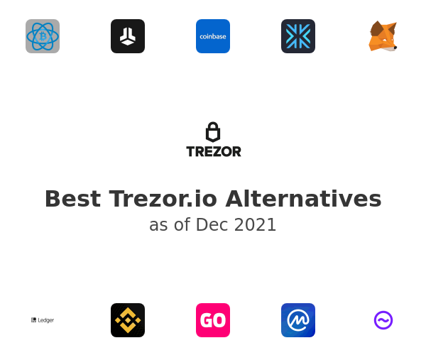 Best Trezor.io Alternatives