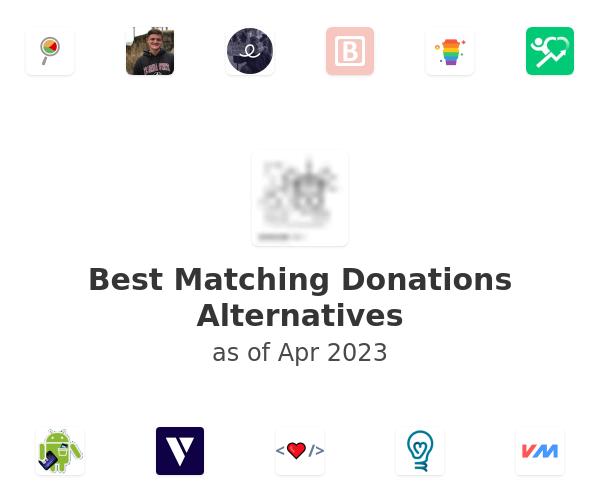 Best Matching Donations Alternatives