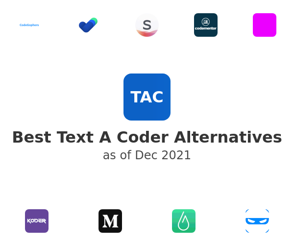 Best Text A Coder Alternatives