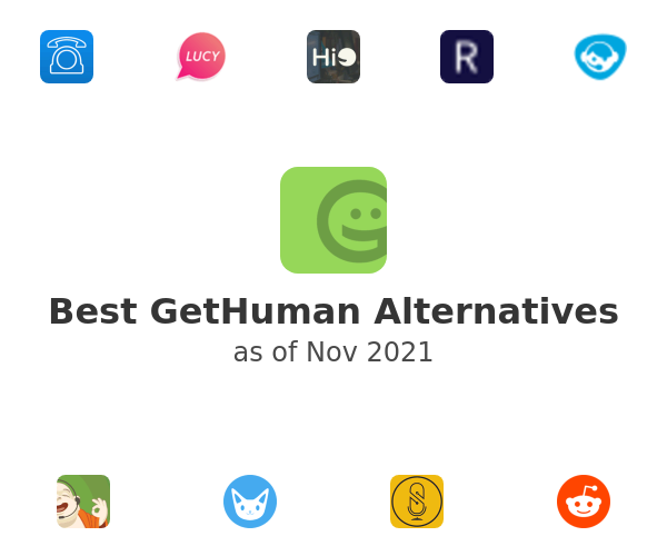 Best GetHuman Alternatives