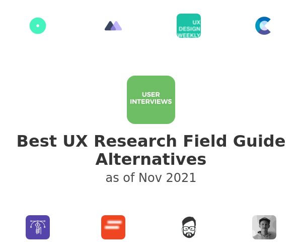 Best UX Research Field Guide Alternatives