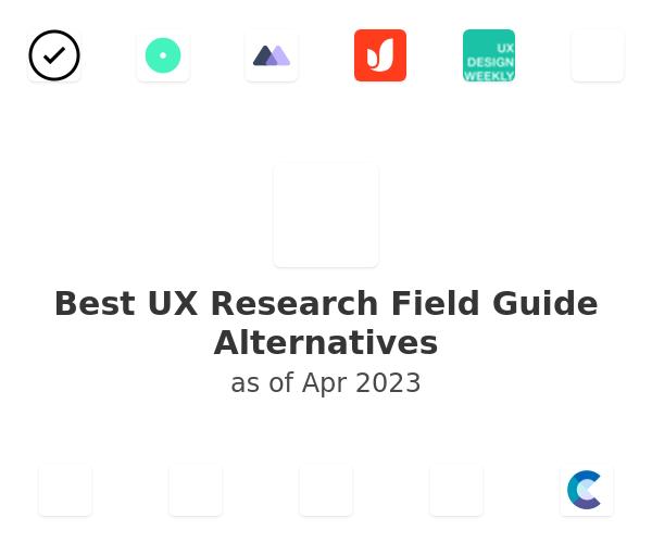 Best UX Research Field Guide Alternatives