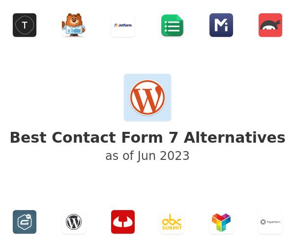 Best Contact Form 7 Alternatives