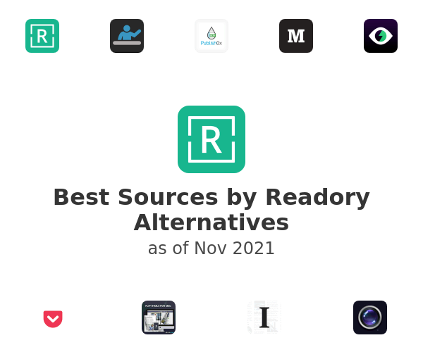 Best Sources by Readory Alternatives