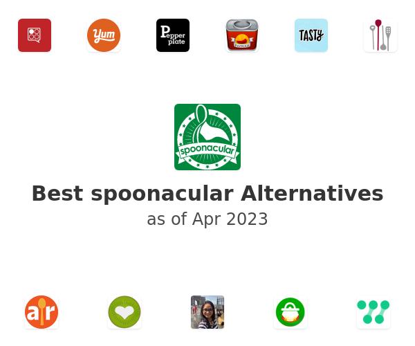 Best spoonacular Alternatives