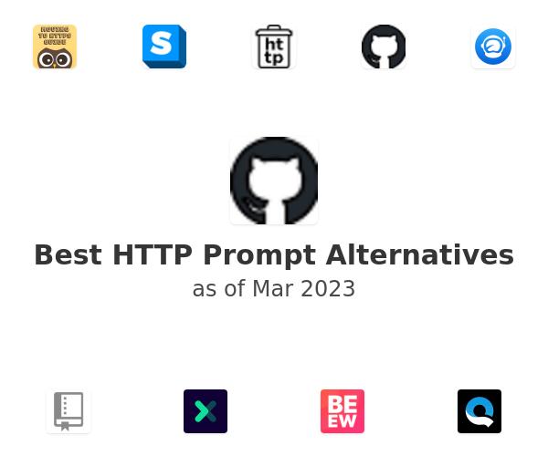 Best HTTP Prompt Alternatives