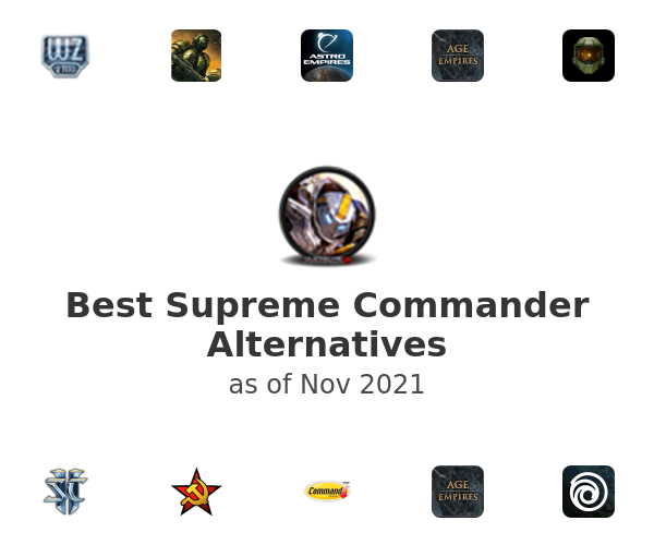 Best Supreme Commander Alternatives