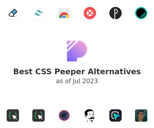 Best CSS Peeper Alternatives