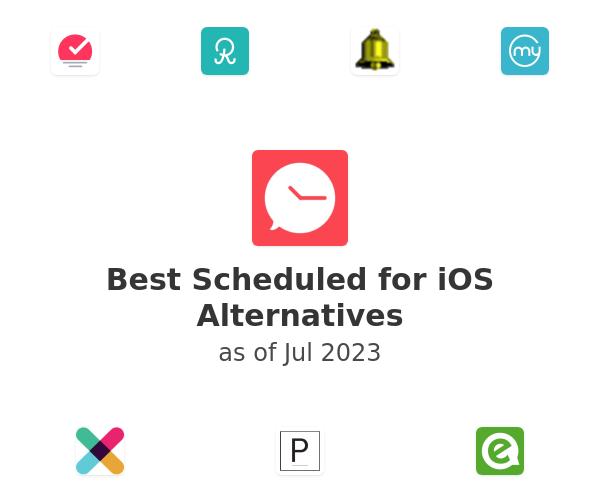 Best Scheduled for iOS Alternatives