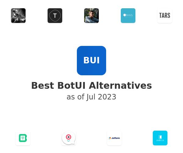Best BotUI Alternatives