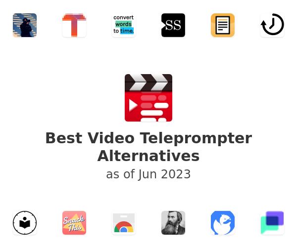 Best Video Teleprompter Alternatives