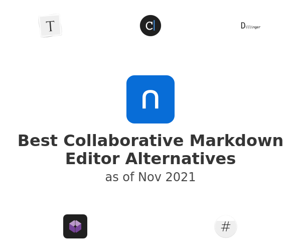 Best Collaborative Markdown Editor Alternatives