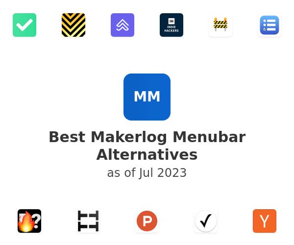 Best Makerlog Menubar Alternatives