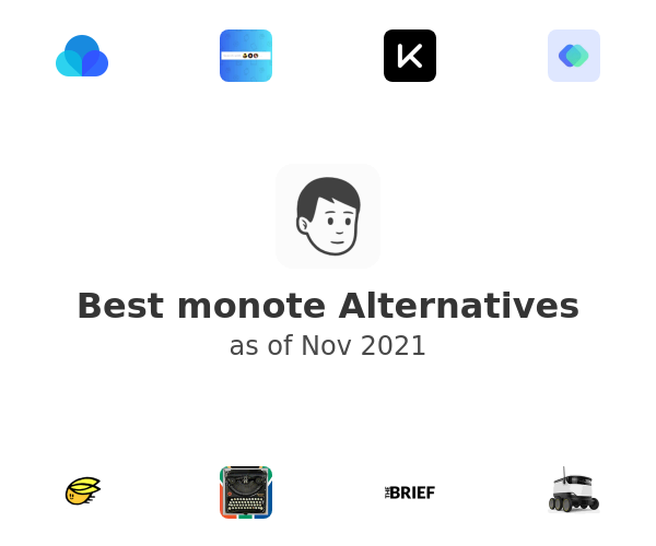 Best monote Alternatives