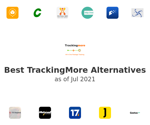 Best TrackingMore Alternatives