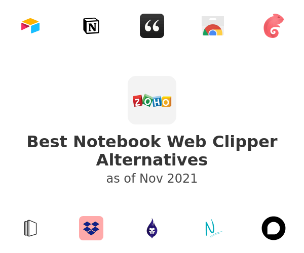 Best Notebook Web Clipper Alternatives
