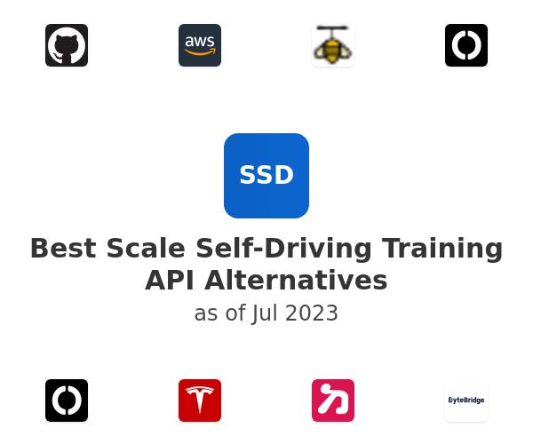 Best Scale Self-Driving Training API Alternatives