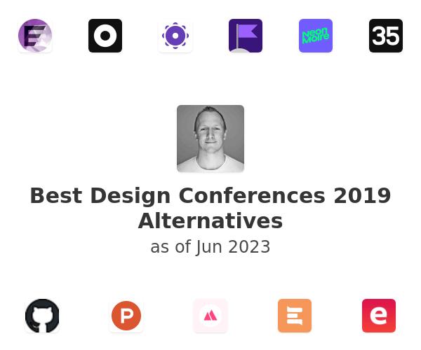 Best Design Conferences 2019 Alternatives