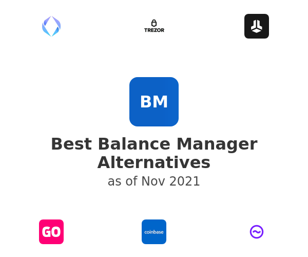 Best Balance Manager Alternatives