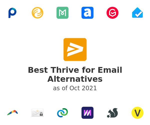 Best Thrive for Email Alternatives