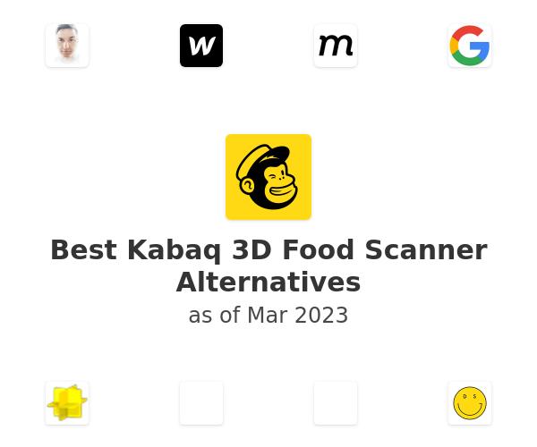 Best Kabaq 3D Food Scanner Alternatives