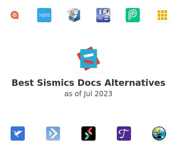 Best Sismics Docs Alternatives