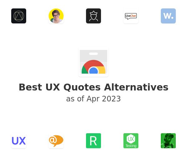 Best UX Quotes Alternatives
