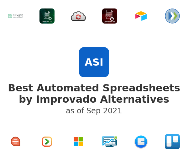 Best Automated Spreadsheets Alternatives