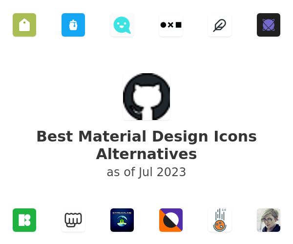 Best Material Design Icons Alternatives