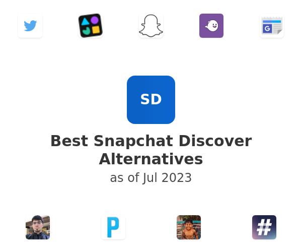 Best Snapchat Discover Alternatives