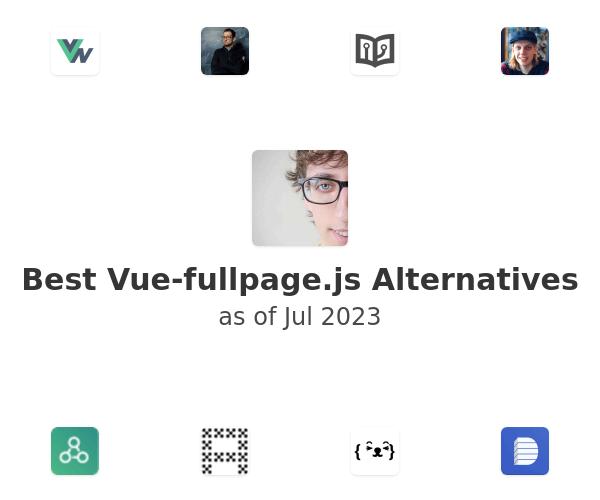 Best Vue-fullpage.js Alternatives