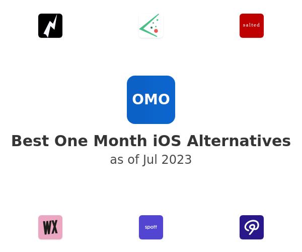 Best One Month iOS Alternatives