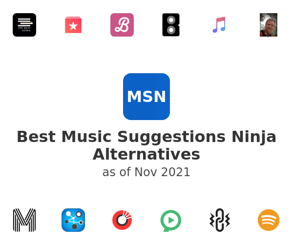 Best Music Suggestions Ninja Alternatives