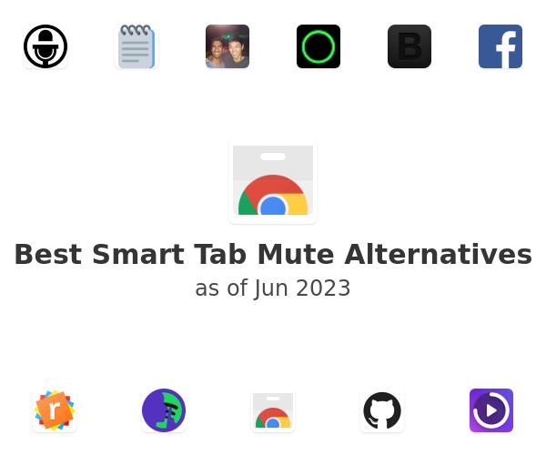 Best Smart Tab Mute Alternatives