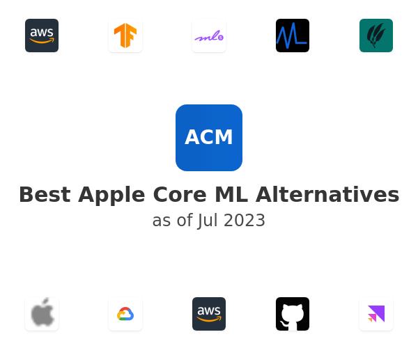 Best Apple Core ML Alternatives
