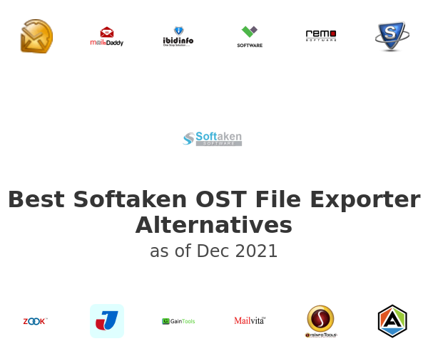 Best Softaken OST File Exporter Alternatives