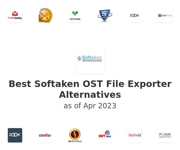 Best Softaken OST File Exporter Alternatives