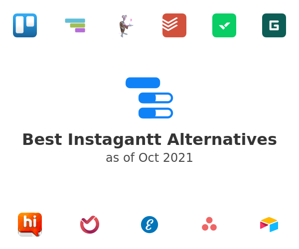 Best Instagantt Alternatives