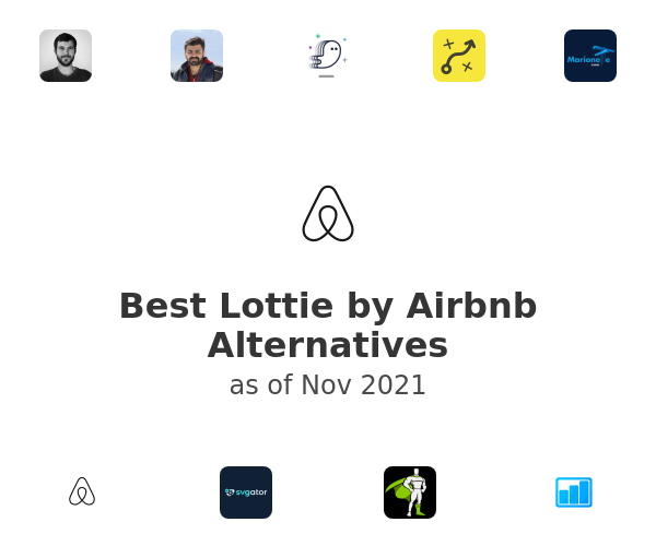 Best Lottie by Airbnb Alternatives