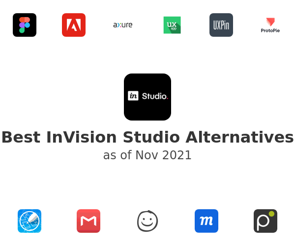 Best InVision Studio Alternatives