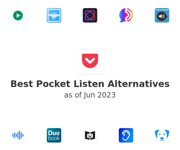 Best Pocket Listen Alternatives
