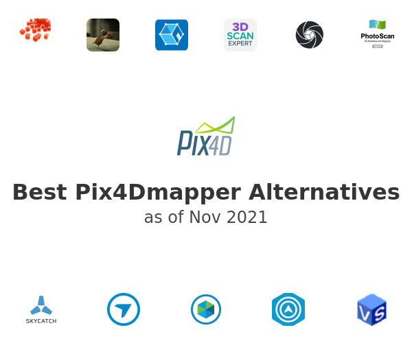 Best Pix4Dmapper Alternatives